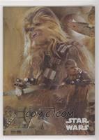 Chewbacca #/250
