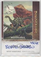 Mussaurus, Benito Gallego #43/49