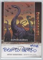 Supersaurus, Benito Gallego #/49