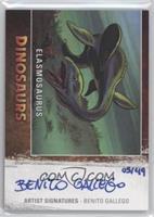 Elasmosaurus, Benito Gallego /49