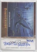 Kronosaurus, Benito Gallego /49