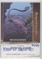 Mosasaurus, Benito Gallego #/49