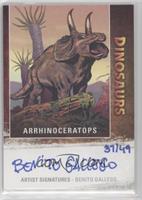 Arrhinoceratops, Benito Gallego #/49