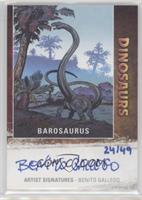 Barosaurus, Benito Gallego #/49