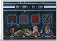 Thor, Quicksilver, Hawkeye, Hulk