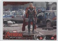 Thor comes out from underground.. #/199