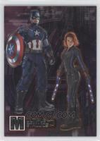 Black Widow, Captain America