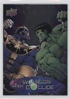 Thanos, Hulk