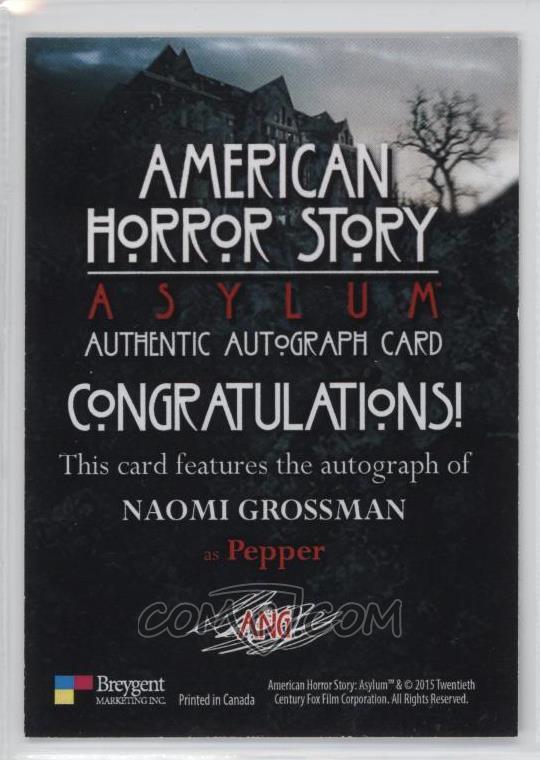 2016 Breygent American Horror Story: Asylum - Autographs