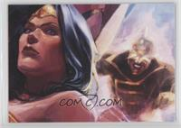 Justice League Task Force - Wonder Woman, The Ray
