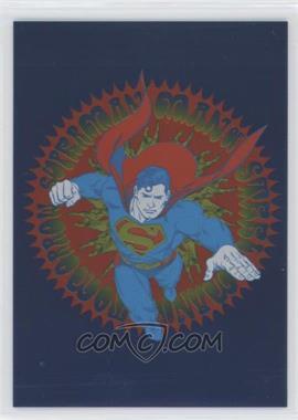 2016 Cryptozoic Justice League - Retro - Silver Foilboard #G1 - Superman