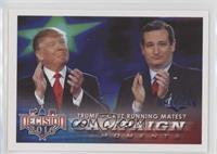 Trump - Cruz Running Mates?