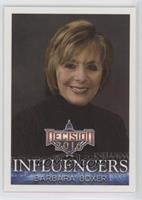 Influencers - Barbara Boxer