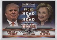 Head 2 Head - Donald J. Trump, Hillary Clinton