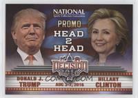 Head 2 Head - Donald J. Trump, Hillary Clinton