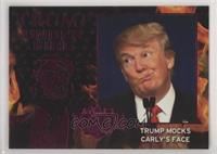 Trump Mocks Carly's Face