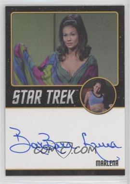 2016 Rittenhouse Star Trek 50 - Autographs #BALU - Barbara Luna as Marlena