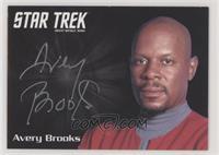 Avery Brooks as Capt. Benjamin Sisko