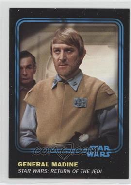 2016 Topps Star Wars Card Trader Physical Cards - [Base] - Blue #39 - General Madine