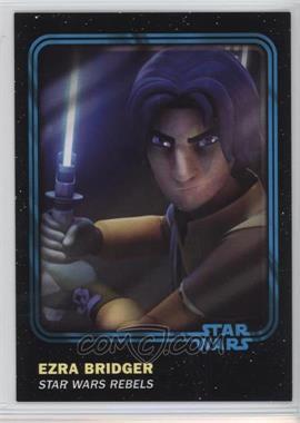 2016 Topps Star Wars Card Trader Physical Cards - [Base] - Blue #86 - Ezra Bridger