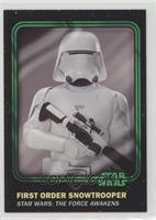 First Order Snowtrooper #/99