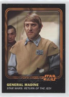 2016 Topps Star Wars Card Trader Physical Cards - [Base] - Orange #39 - General Madine /50