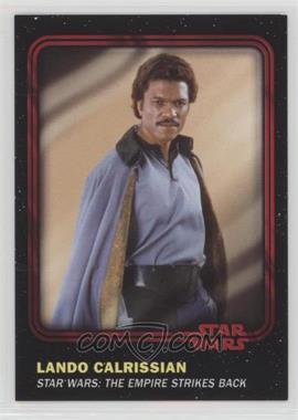 2016 Topps Star Wars Card Trader Physical Cards - [Base] - Red #11 - Lando Calrissian