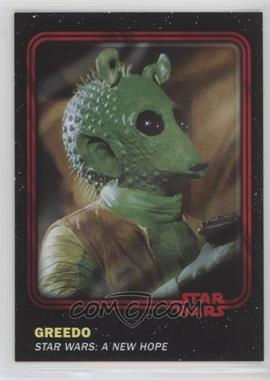 2016 Topps Star Wars Card Trader Physical Cards - [Base] - Red #21 - Greedo