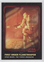 First Order Flametrooper