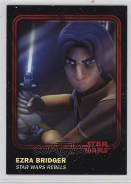 2016 Topps Star Wars Card Trader Physical Cards - [Base] - Red #86 - Ezra Bridger