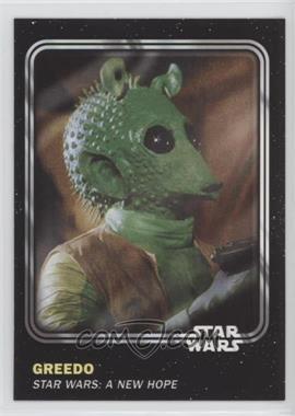 2016 Topps Star Wars Card Trader Physical Cards - [Base] #21 - Greedo