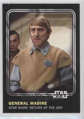 2016 Topps Star Wars Card Trader Physical Cards - [Base] #39 - General Madine