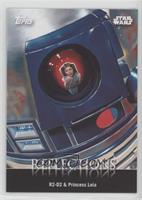 R2-D2 & Princess Leia Organa