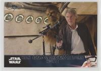 Han Solo & Chewie Return Home