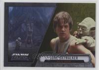 Luke Skywalker - Jedi In Training #/50