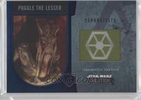 Poggle the Lesser #/50