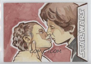 2016 Topps Star Wars Evolution - Sketch Cards #TBLH - Tina Berardi /1