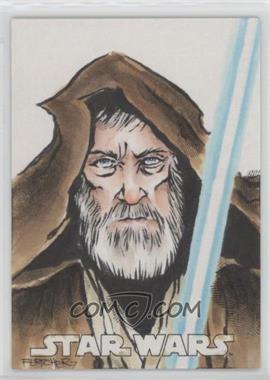 2016 Topps Star Wars Evolution - Sketch Cards #UACH - Unknown Artist /1