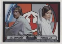 Luke Skywalker, Princess Leia Organa