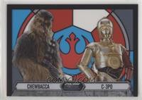 Chewbacca, C-3PO