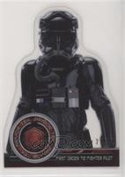 First Order Tie Fighter Pilot [Noted] #/50