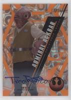The Force Awakens - Tim Rose, Admiral Ackbar #/25