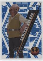Form 2 - Admiral Ackbar #/99