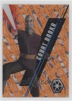 Form 1 - Count Dooku [Noted] #/25