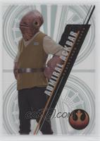 Form 2 - Admiral Ackbar