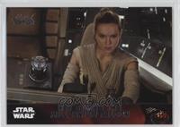 Storyline - Rey starts the Millennium Falcon