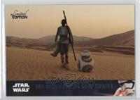 BB-8 Follows Rey Home