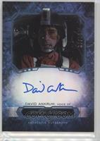 David Ankrum as Wedge Antilles #/50