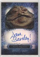 David Barclay as Jabba The Hutt /50
