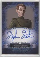Stephen Stanton as Wilhuff Tarkin